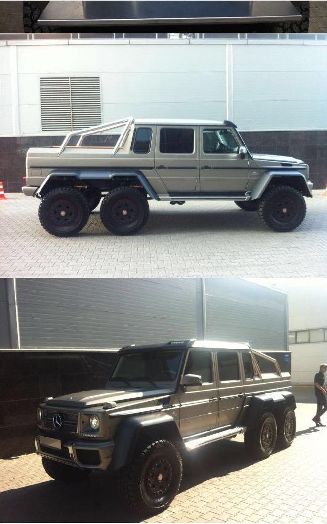 """Девятый автомобиль матового цвета """"Серый манганит"""" находится в Москве. 6x6, amg, g63, gelandewagen, mercedes-benz"""