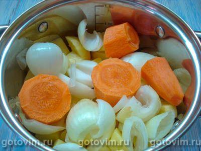 Немецкий картофельный суп, Шаг 02