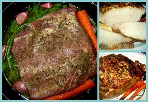 Ароматное запеченное мясо (два варианта)