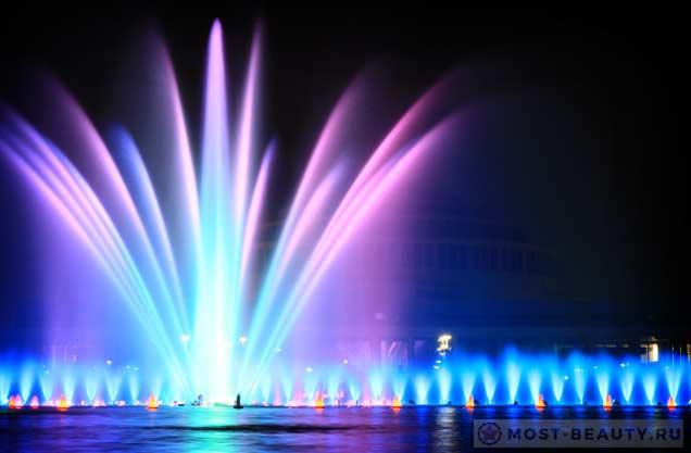 Самые красивые фонтаны в мире,