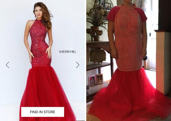 Ожидание и реальность: почему не стоит заказывать вечернее платье в интернете
