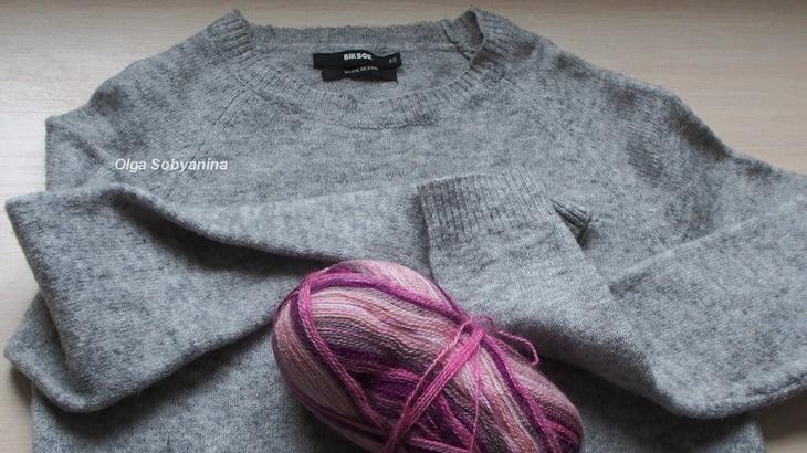 Как украсить свитер вышивкой декор одежды