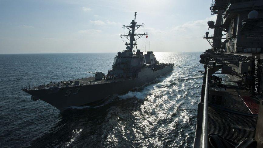 Американский эсминец «Карни» вошёл в Чёрное море