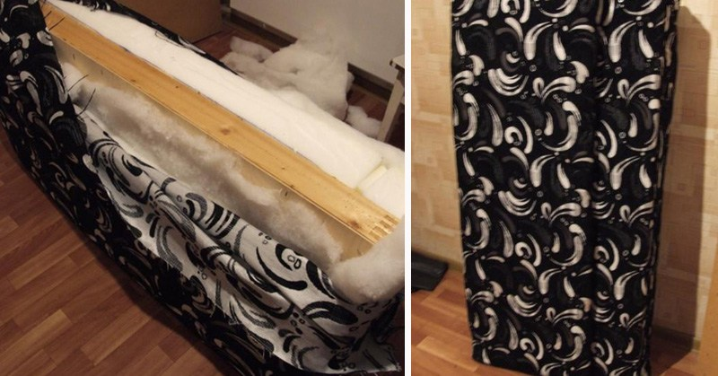 переделка мебели своими руками до и после