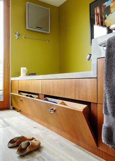 Транзисьон Ванная комната by Andrew Snow Photography