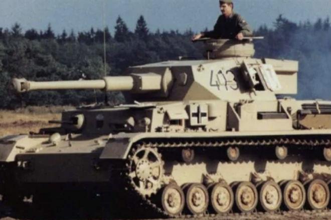 История про то, как цыган-разведчик немецкий танк угнал