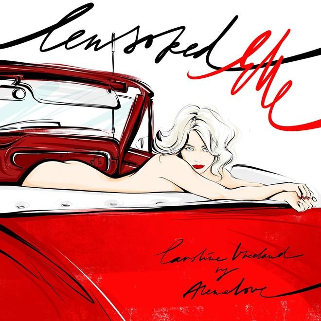 Осторожно, горячо! Анимированная история с главной героиней ноябрьского ELLE — Каролин Вриланд (фото 2)