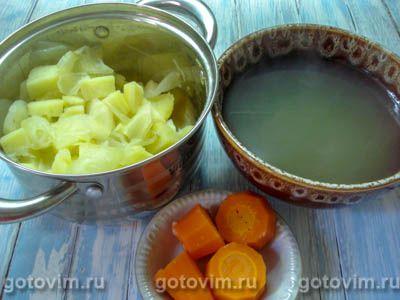 Немецкий картофельный суп, Шаг 05