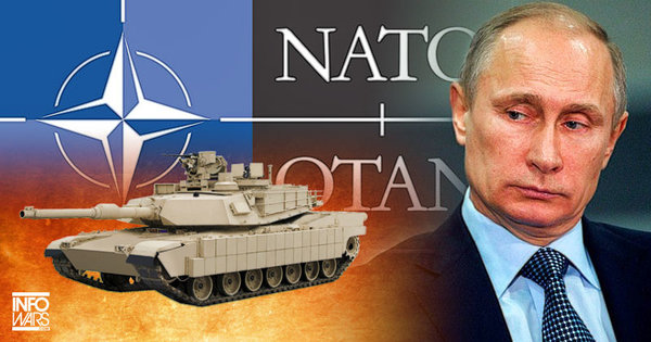 Ранее Путин неоднократно заявлял о нецелесообразности существования НАТО после распада СССР. Фото: infowars.com