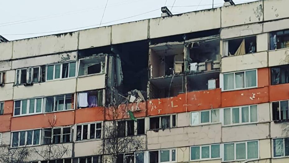 В Петербурге прогремел взрыв в жилом доме