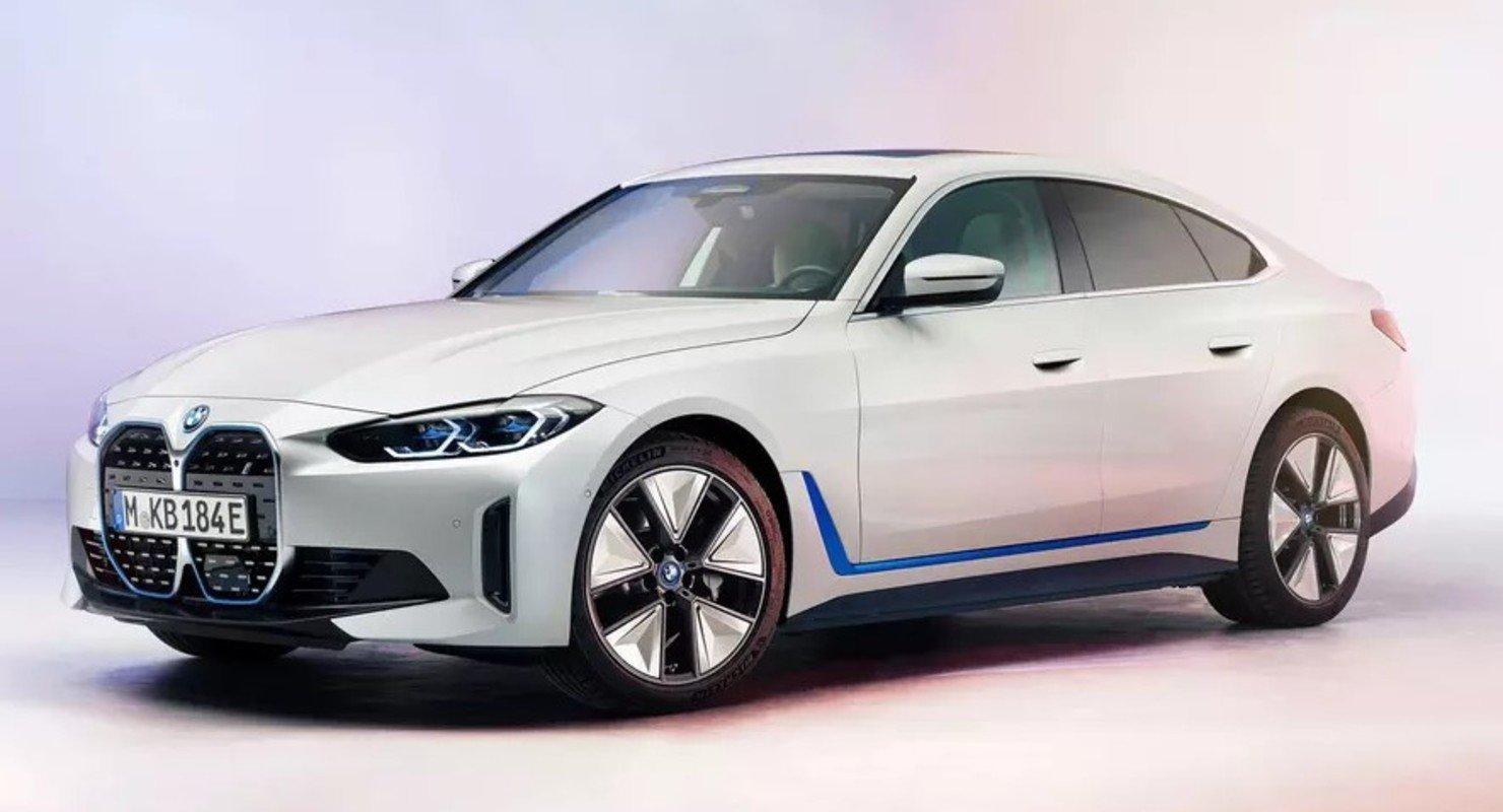 BMW раскрыла внешность электрического лифтбека i4 Автомобили