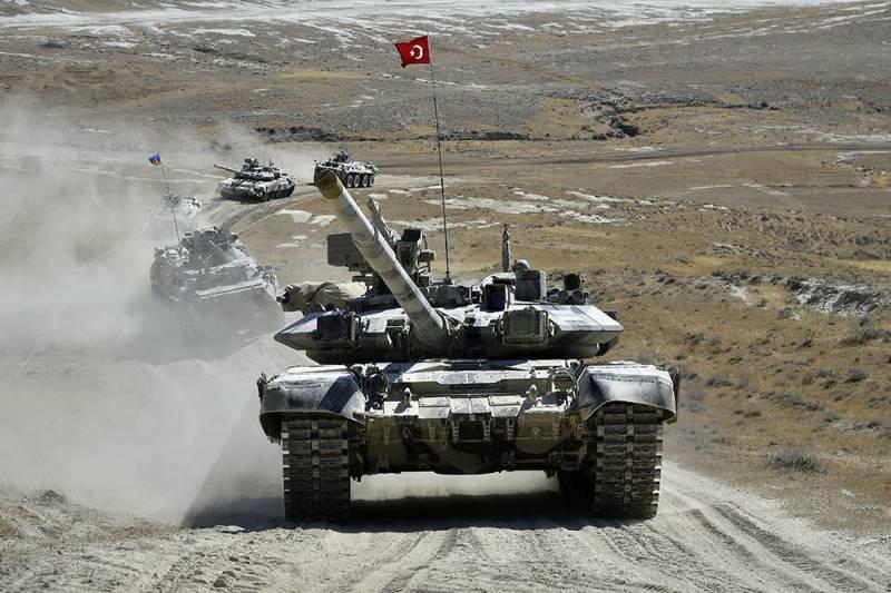 Армия Великого Турана против ОДКБ