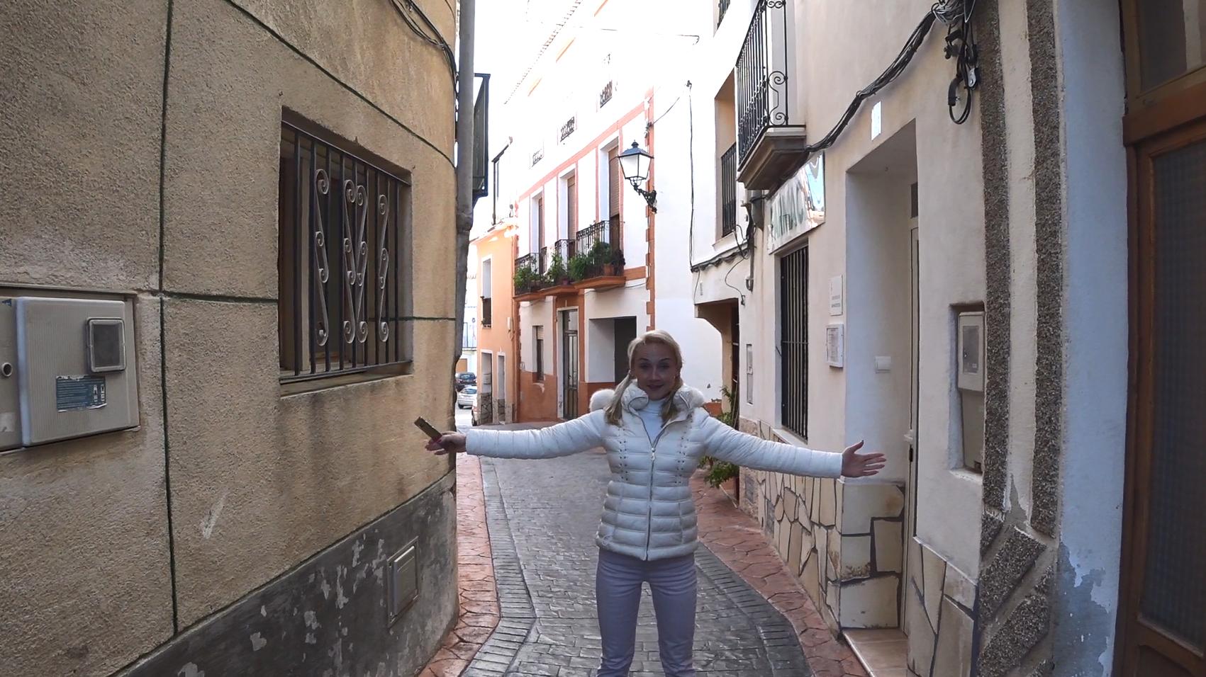 Прогулка по испанской деревне Бениарда