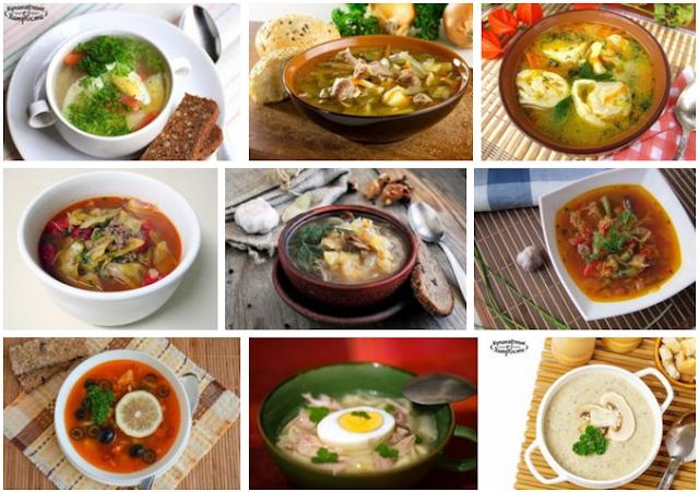 9 Вкуснейших первых блюд