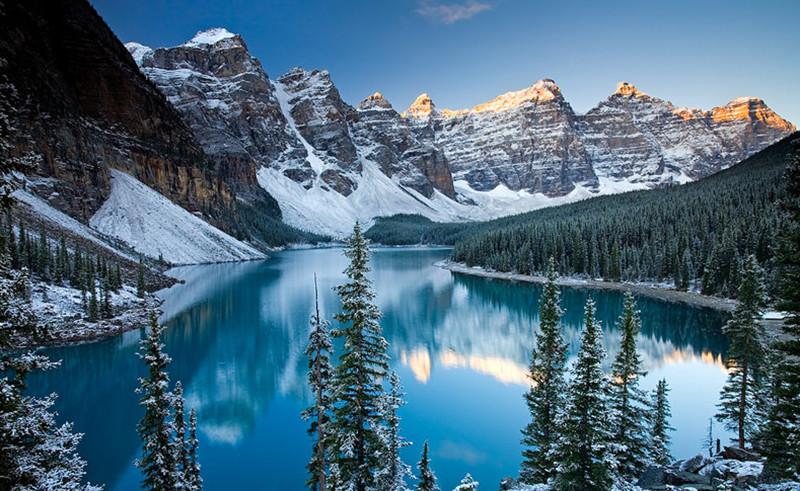 Долина Десяти Пиков, Канада долина, природа, факты