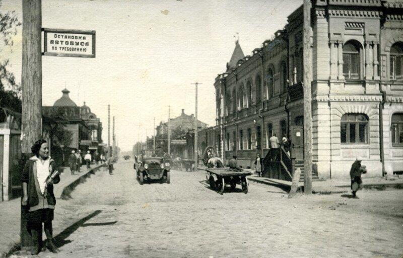 1928. Начало улицы Красный Путь история, ретро, фото