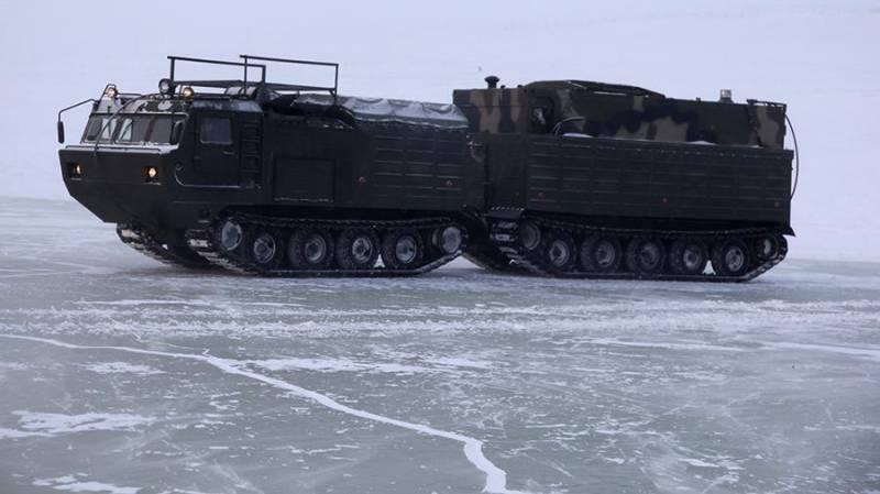 Минобороны РФ приняло на снабжение тыловую технику для Арктики