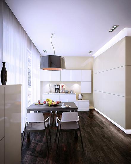 Дизайн кухни от Дмитрия Кобцева
