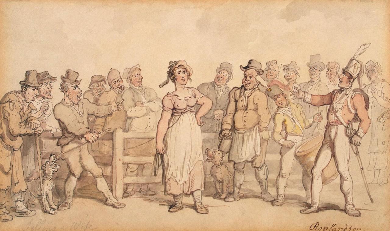 Как в Англии жен продавали