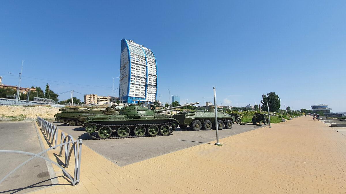Побывал в парке военной техники в Волгограде. Вот что я там увидел