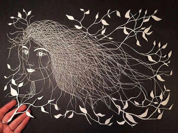 Невероятно изящные произведения искусства из простой бумаги