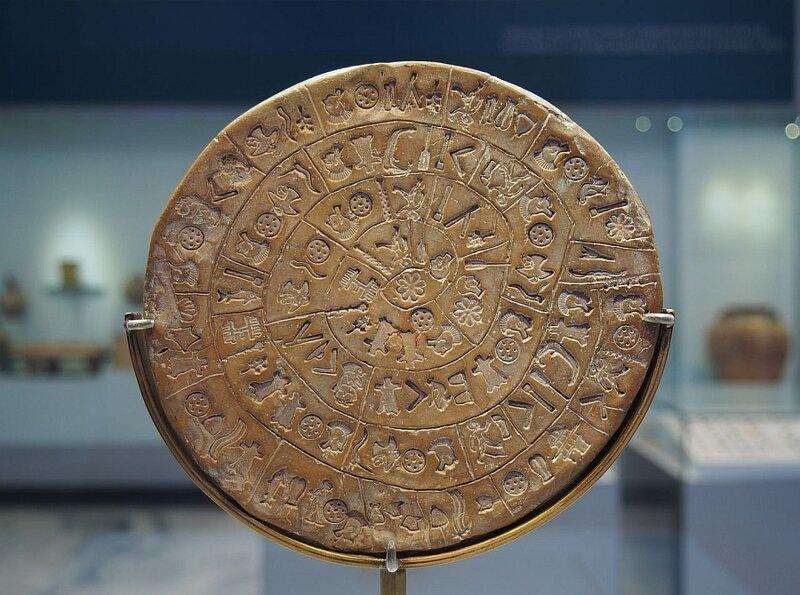 10. Загадка Фестского диска в мире, загадки, интересно, исторические события, история, странные вещи, тайны, факты