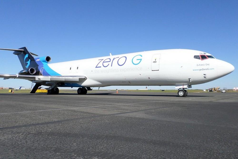 Боинг-727 Zero Gravity в аэропорту Шарлотта