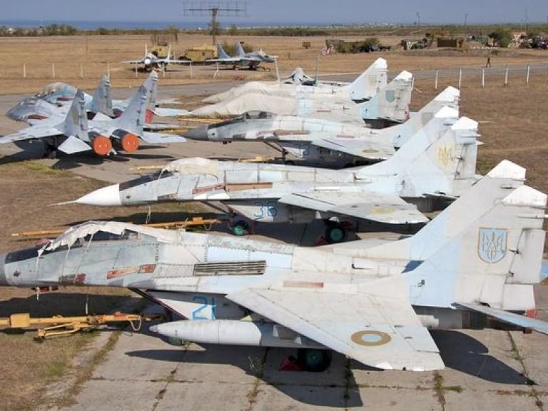 Реанимация украинской боевой авиации невозможна без России