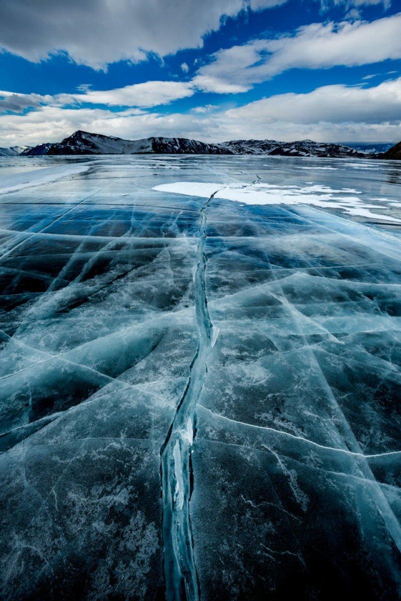 Трещины Зимняя сказка, байкал, зима, красота, лед, снег, фото, фоторепортаж