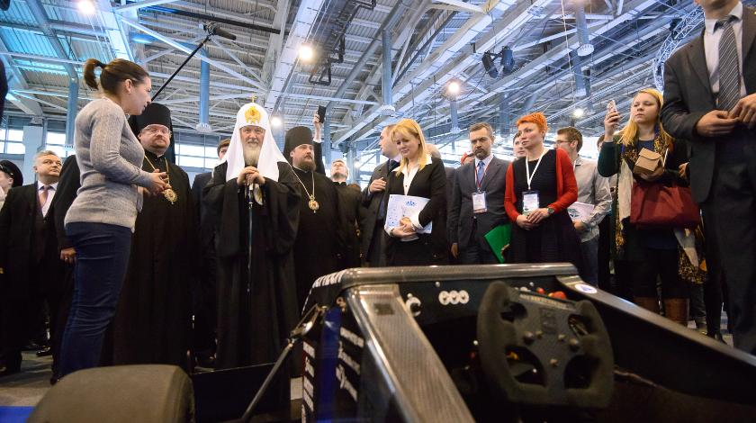 Патриарх Кирилл встретится с молодежью на ВДНХ