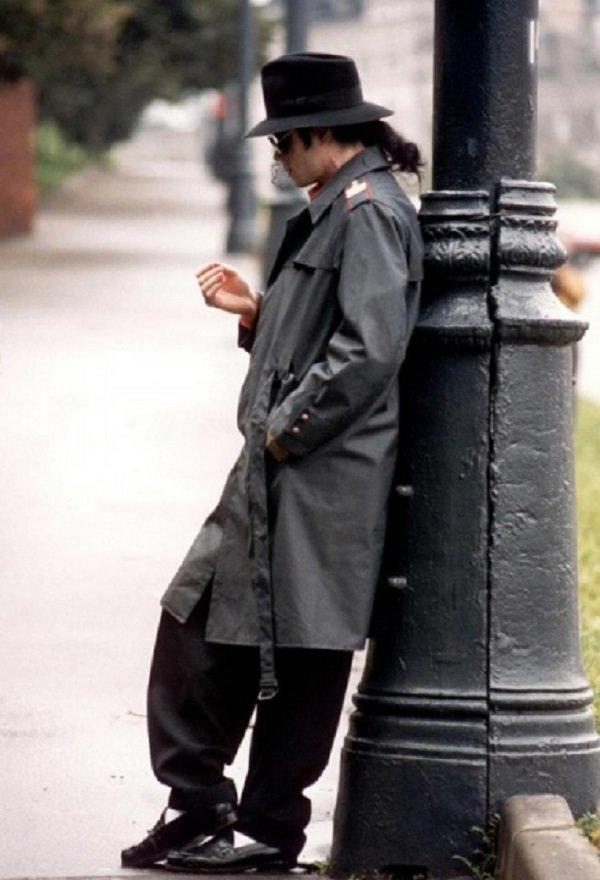Майкл Джексон в Москве. Снимок сделан во время его первого визита в Россию,1993  история, люди, мир, фото