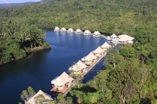 Отель 4 Rivers Floating Lodge (Риверс Флоатинг Лодж), Камбоджа африка