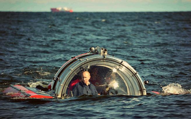 Черный ящик на подводной лодке