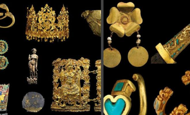 Раскопки царских курганов: золото ждало своего часа 540 лет археология,золото,Пространство,сокровища,троя,черные копатели,шлиман