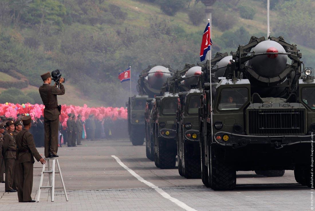 Южная Корея и Китай будут реагировать на испытания ракет КНДР — СМИ