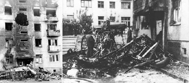 44 года со дня тарана самолетом дома в Новосибирске интересное,история,ужас,факты,шок