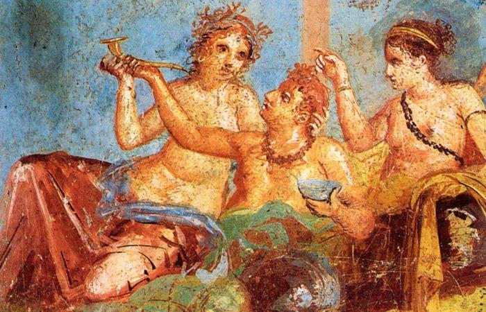 бордели - самые популярные заведения в Помпеях.