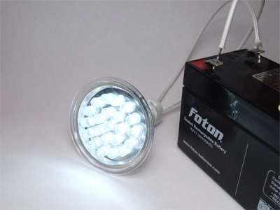 Самодельный фонарик на светодиодах: переделываем галогеновую лампочку в светодиодную