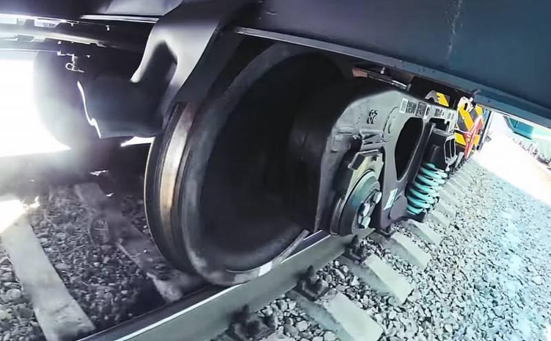 Импортозамещение сработало: Россия начала поставки колесных пар для ж/д на Украину Видео