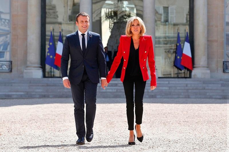 Иконы моды — уроки модной дипломатии от первой леди Франции Брижит Макрон