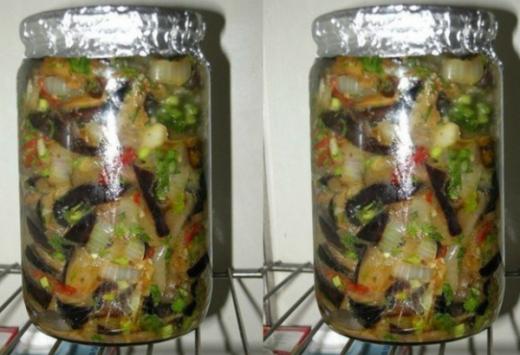 Салат из баклажан с секретиком…