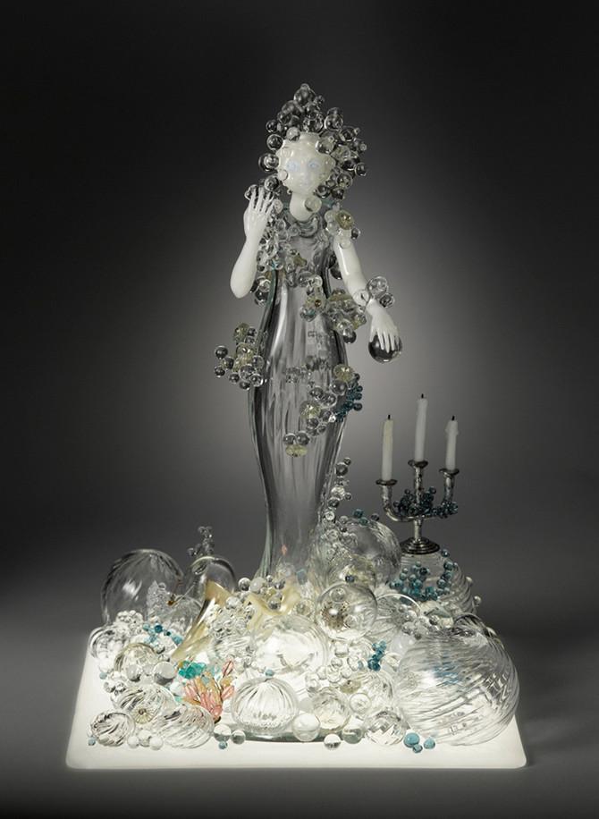 Стеклянные скульптуры