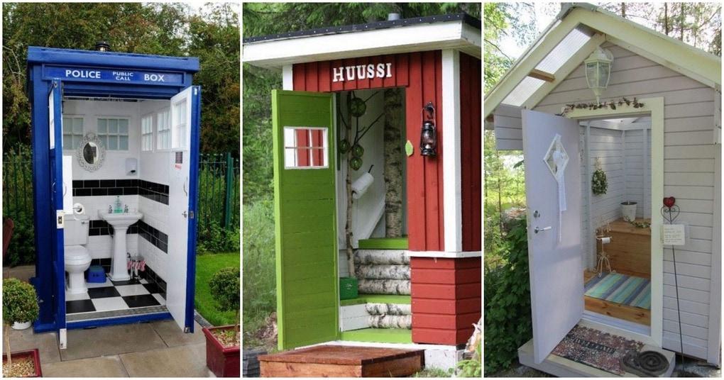 Необычный дизайн туалетов на…