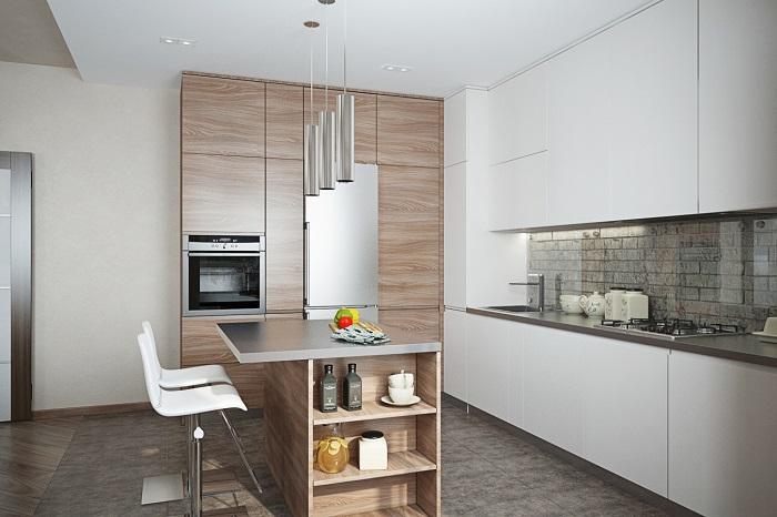В лаконичный интерьер проще добавлять детали. / Фото: housesdesign.ru