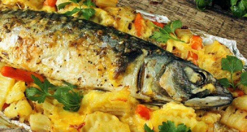 Селедка в духовке за 30 минут:вкуснее, чем копченая рыба