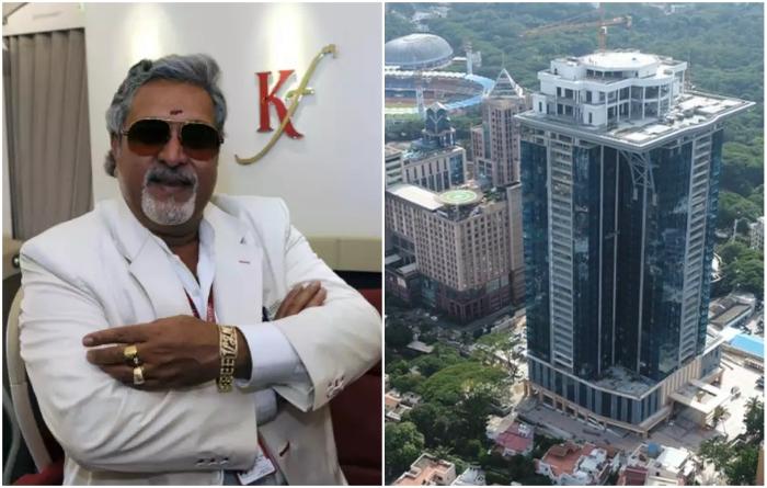 Индийский олигарх построил особняк на крыше небоскреба