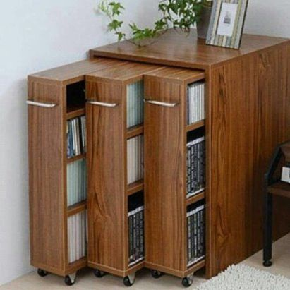 Место для хранения книг, как вам идея?