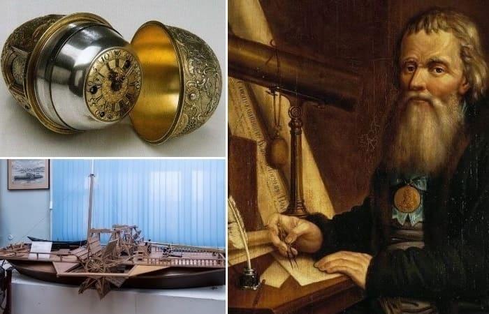 Шедевры изготовленные Иваном Кулибиным 282 года назад