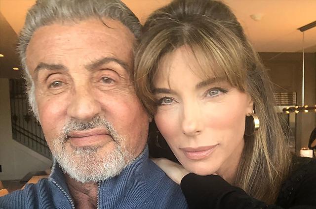 Сильвестр Сталлоне и Дженнифер Флавлин отметили 23-летнюю годовщину свадьбы