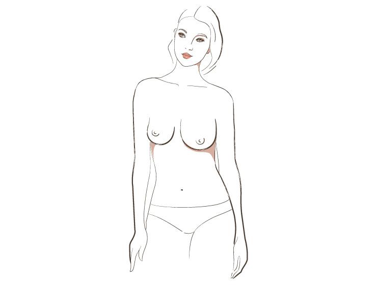 все виды типы женской груди фото